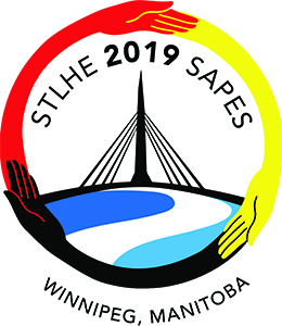 STLHE 2019 conference logo