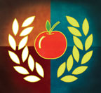wreath&apple